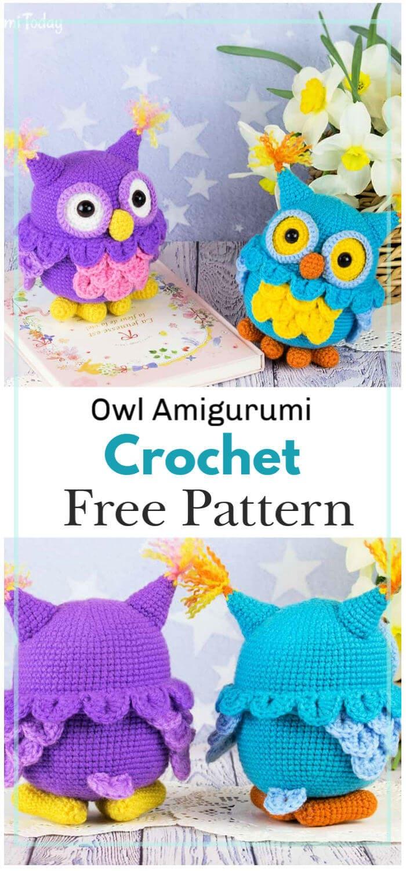 How To Crochet an Amigurumi Rabbit | Owl crochet patterns, Owl ... | 1500x700