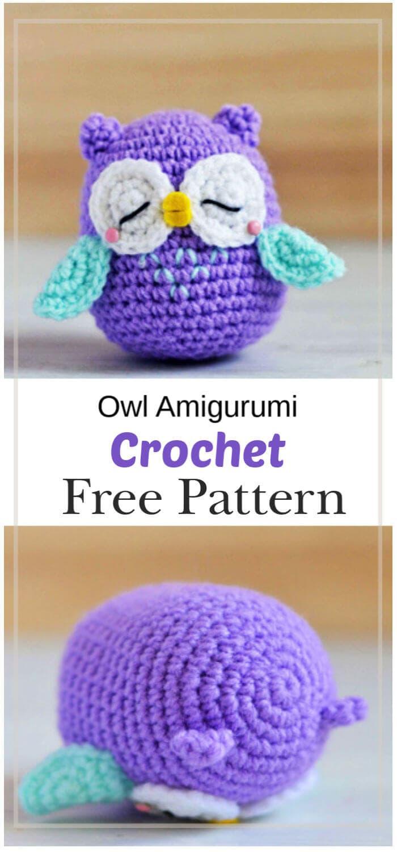 Baby Knitting Patterns Crochet Hearty Owl Amigurumi Free Pattern ... | 1500x700